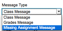 Missing Assignment Option