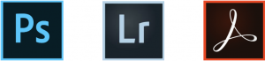 Collection of Adobe Creative Cloud Icons