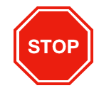 Stop sign - red octagon